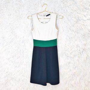 41 Hawthorn Dita ponte color block dress